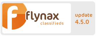 Flynax Software update v.4.5.0
